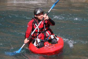 Descente Play & Run en open kayak 1h30 image 3