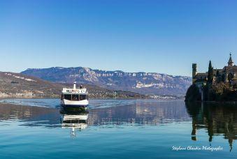 Croisière Lac Sauvage avec Menu ROSEAU  - Aix-Les-Bains image 1