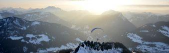 Vol à ski en Parapente - Grand Bornand image 1