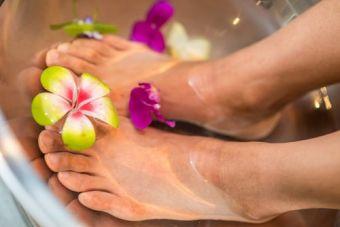 Massage des pieds et des mains (20 min) image 1