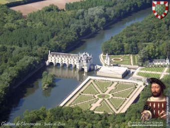 Survol des châteaux de la Loire en avion image 6