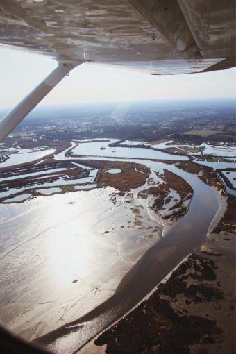 Survol en avion du bassin d'Arcachon image 8