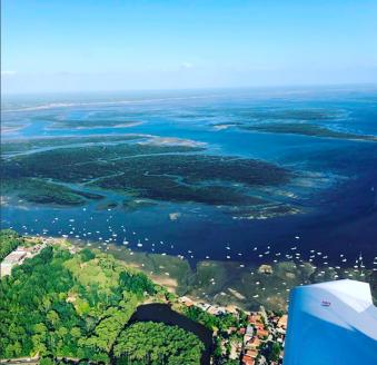 Survol en avion du bassin d'Arcachon image 4