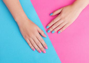 Vernis Semi-Permanent mains ou pieds image 1