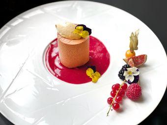 Menu Gastronome avec coupe de champagne image 2