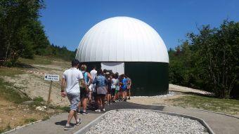 Séance de planétarium à l'Observatoire de la Lèbe image 2