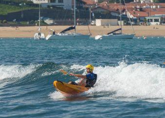 Séance de 2h dans les vagues en Wave ski ou Kayak surf image 5
