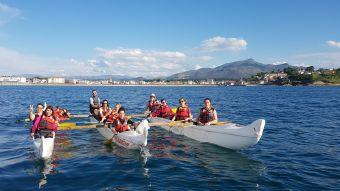 Balade de 2h en pirogue Hawaïenne ou kayak de mer. Adulte. image 3