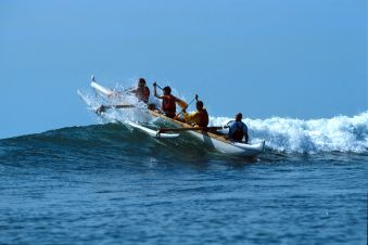 Balade de 2h en pirogue Hawaïenne ou kayak de mer. Adulte. image 2
