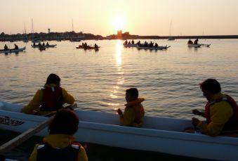 Soirée et initiation pêche aux chipirons en pirogue à St Jean de Luz. Adulte. image 2