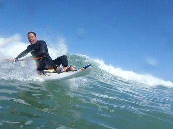 Séance de 2h dans les vagues en Wave ski ou Kayak surf image 1