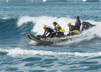 Séance de 2h dans les vagues en Wave-rafting image 2
