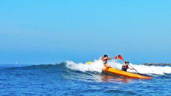 Séance de 2h dans les vagues en Wave ski ou Kayak surf image 2