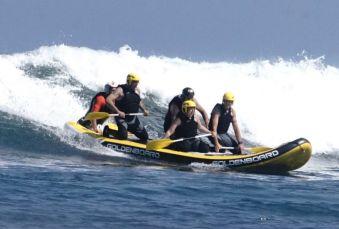 Séance de 2h dans les vagues en Wave-rafting image 1