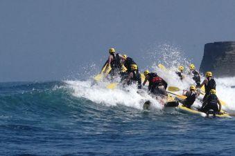 Séance de 2h dans les vagues en Wave-rafting image 3