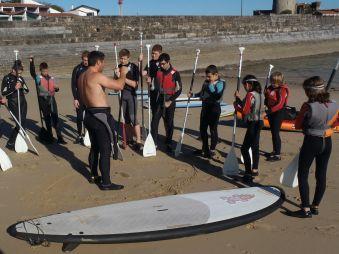 Cours de 2h en Stand up paddle. Enfant. image 1
