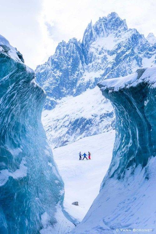 Sortie ski dans la Vallée Blanche-Chamonix image 1