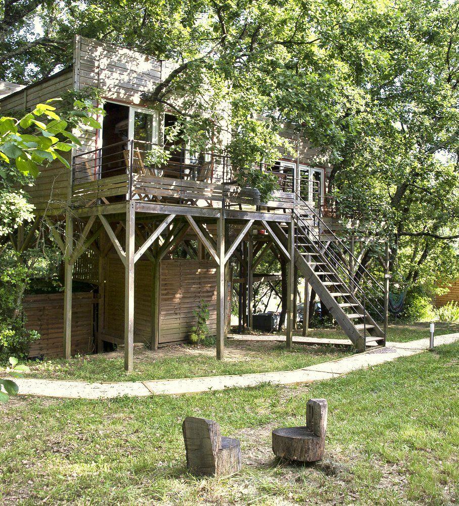 Une nuit en famille dans une cabane perchée dans les arbres image 5
