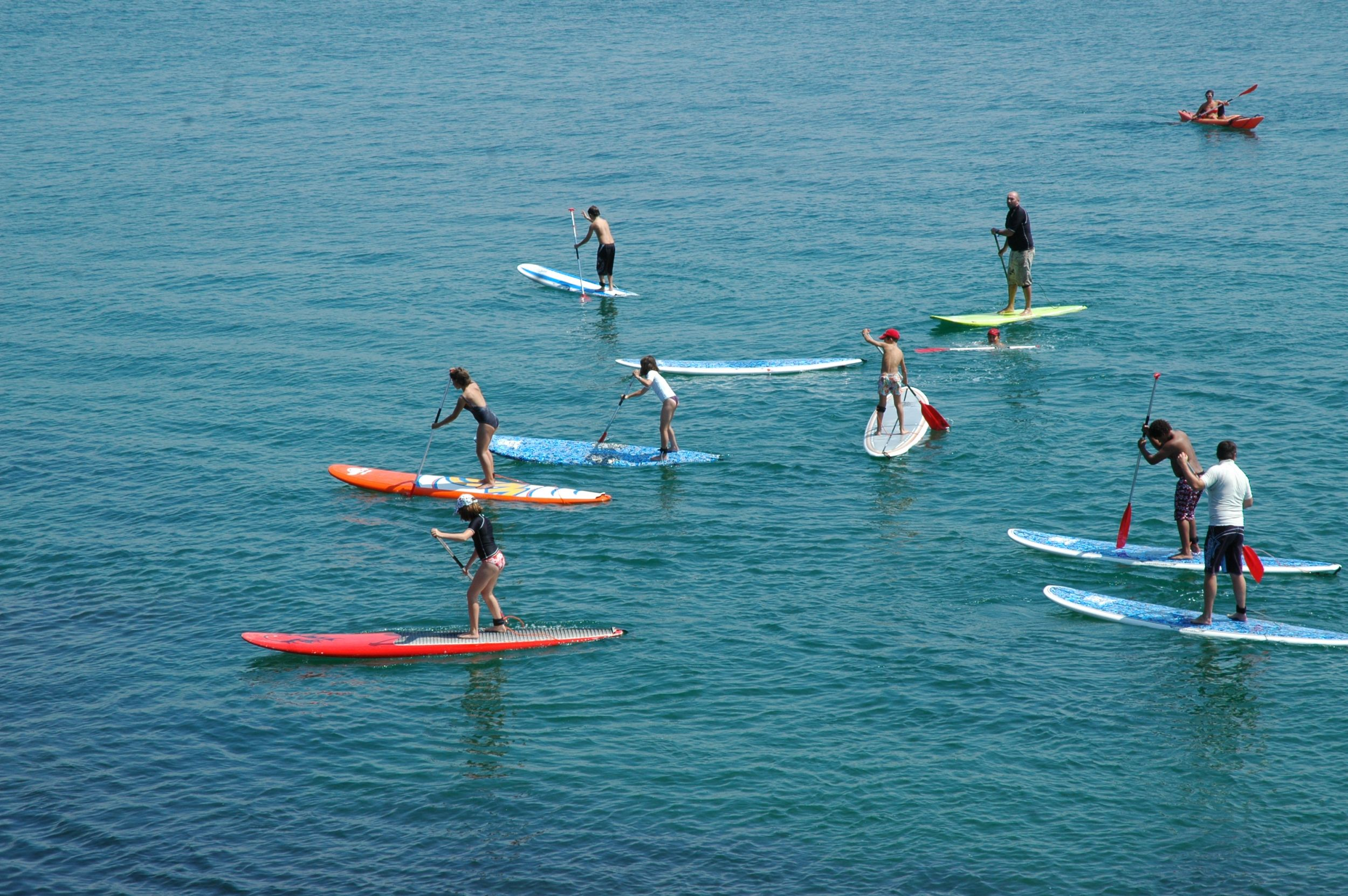 Cours de 2h en Stand up paddle. Enfant. image 3